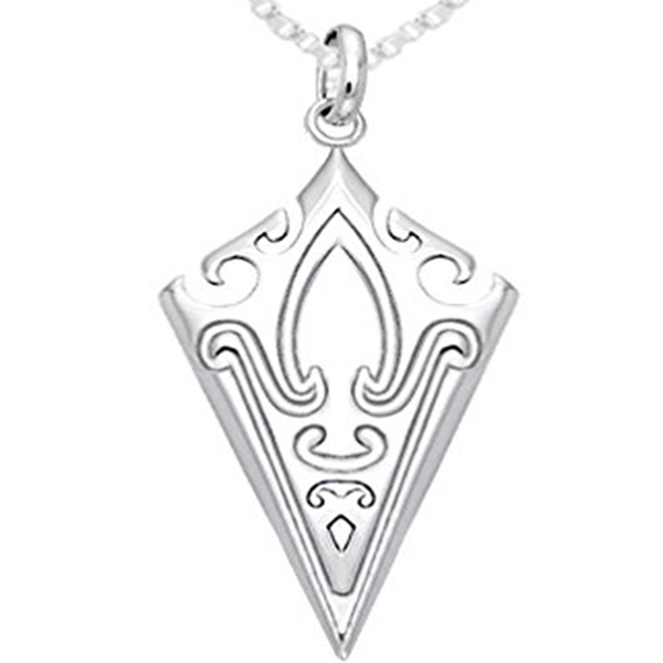 Norse mammen viking arrowhead pendant necklace viking front norse mammen viking arrowhead pendant necklace1 aloadofball Image collections