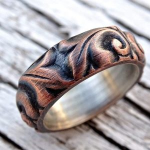 Copper-Leaf-Viking-Wedding-Ring3-600x450-1