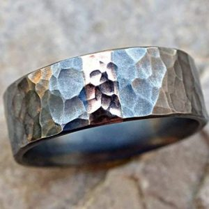 Mens-viking-wedding-ring-with-rose-gold-and-dark-silver7_-600x449-1