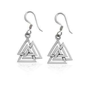 Sterling-Silver-Valknut-Viking-Dangle-Earrings-600x600-1