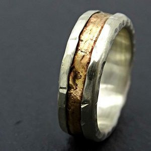 Rustic-Viking-Wedding-and-Engagement-Ring-for-Men-with-14k-Gold-Inlay7