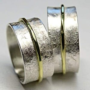 Viking-His-and-Hers-Silver-and-18k-Gold-Wedding-Band-Set5_