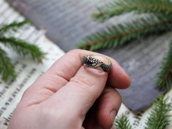 roboros jormungand unisex organic ring3