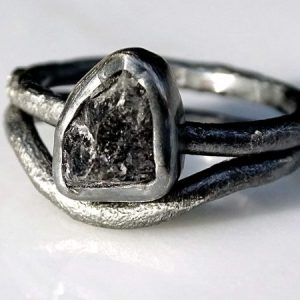 Viking engagement diamond ring