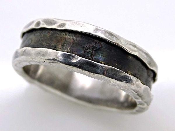 viking wedding band white gold mens wedding band3